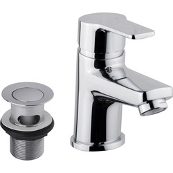 Ebb and Flo Ebb + Flo Kilve Taps Basin Mixer - 33830 - from Toolstation