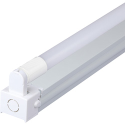 V-TAC V-TAC LED Batten c/w Tubes Single 18W 1200mm 1700lm - 33970 - from Toolstation