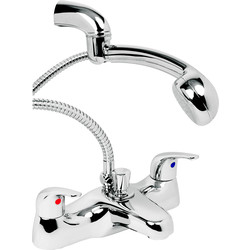 Deva Deva Revelle Taps Bath Shower Mixer - 33989 - from Toolstation