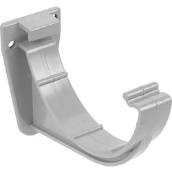 Aquaflow 112mm Half Round Fascia Bracket Grey - 34005 - from Toolstation