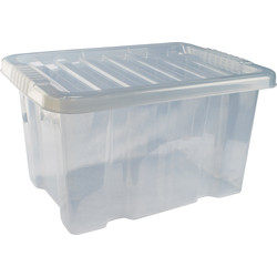 Barton Plastic Container with Clip On Lid 24L - 34032 - from Toolstation