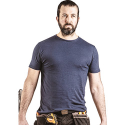 Scruffs Scruffs Worker T-Shirt Navy Large - 34088 - from Toolstation
