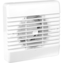 Airvent Airvent 100mm Part L Quiet Extractor Fan Standard - 34162 - from Toolstation