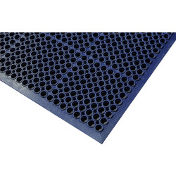 Blue Diamond Workzone Anti-Fatigue Workstation Mat 1.2m x 0.8m - Black - 34180 - from Toolstation