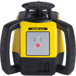 Leica Leica Rugby 610 Rotational Laser Level 4 x D Cell Batteries - 34188 - from Toolstation