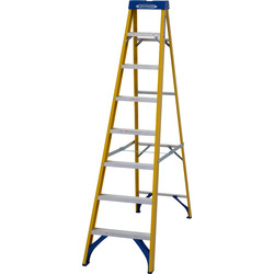 Youngman Youngman Fibreglass Swingback Step Ladder 8 Tread  SWH 3.15m - 34310 - from Toolstation