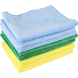 Streetwize Microfibre Cloths 400mm x 400mm - 34346 - from Toolstation
