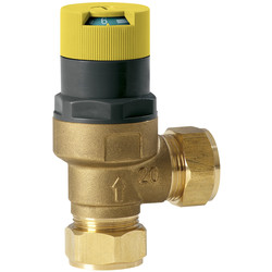 Automatic By Pass Valve 22mm - 34403 - from Toolstation