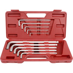 Allen Ball End Hex Key Set  - 34415 - from Toolstation