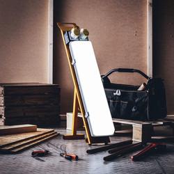 Defender LED Contractors Floor Light IP44