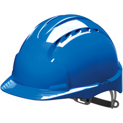 JSP EVO2 Adjustable Safety Helmet Blue