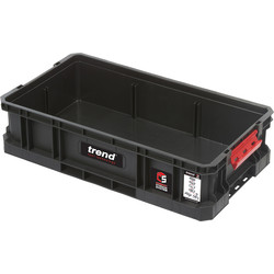 Trend Trend Modular Storage Compact Tote 100mm - 34685 - from Toolstation