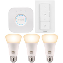 Philips Hue Philips Hue White Ambiance Starter Kit E27/ES - 34698 - from Toolstation