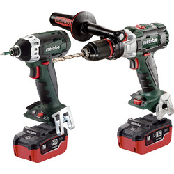 Metabo TS Comboset 18V Li-Ion Twin Pack 2 x 5.5Ah