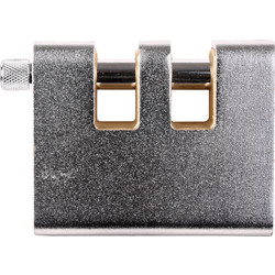 Squire Squire Watchman Armoured Warehouse Padlock 90 x 12 x 29mm Double Slotted - 34768 - from Toolstation