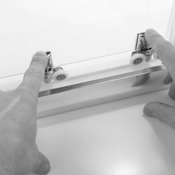 Merlyn NIX Sliding 2 Door Quadrant Shower Enclosure