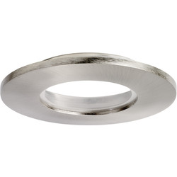 Enlite Enlite E5 IP65 Twist & Lock Bezel Satin Nickel - 34800 - from Toolstation