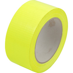 Heavy Duty Cloth Duct Tape High Vis 50mm x 50m
