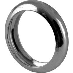 Gas Bayonet Cooker Hose Locking Ring Chrome