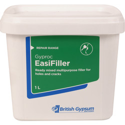 Gyproc Gyproc Easifiller Ready Mixed Filler 1L - 34950 - from Toolstation
