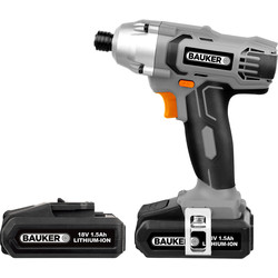 Bauker Bauker 18V Li-Ion Cordless Impact Driver 2 x 1.5Ah - 35026 - from Toolstation