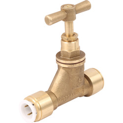 JG Speedfit JG Speedfit Brass Stop Cock 15mm - 35157 - from Toolstation