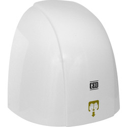 White Automatic Hand Dryer 1800W - 35258 - from Toolstation