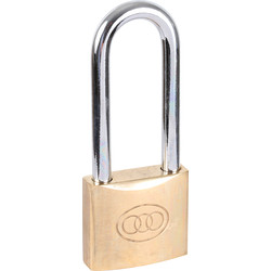 Tri Circle Tri-Circle Brass Padlock 50 x 9 x 74mm LS - 35259 - from Toolstation