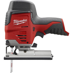 Milwaukee Milwaukee M12JS-0 12V Li-Ion Cordless Compact Jigsaw Body Only - 35317 - from Toolstation