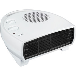 Glen Glen 2kW Flat Fan Heater 2kW - 35324 - from Toolstation