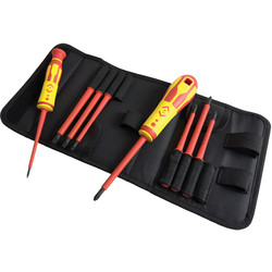 C.K 1000V VDE Interchangable Bladed Screwdriver Set
