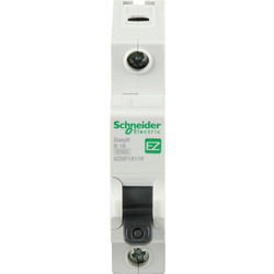 Schneider Electric Schneider Easy9 6KA MCB 16A SP Type B - 35470 - from Toolstation