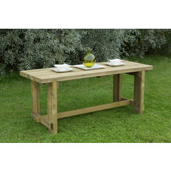 Forest Forest Garden Refectory Table 75cm (h) x 180cm (w) x 70cm (d) - 35474 - from Toolstation