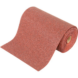 Silverline Aluminium Oxide Sanding Roll 115mm 180 Grit 10m - 35491 - from Toolstation