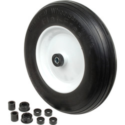 MOVE IT Flat Free Solid Wheel 360mm - 35536 - from Toolstation