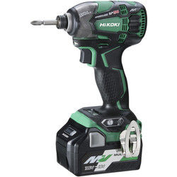 Hikoki Hikoki 36V Brushless MultiVolt Triple Hammer Impact Driver 2x 2.5Ah - 35574 - from Toolstation