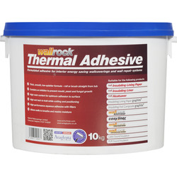 Erfurt Mav Wallrock Thermal Wallrock Thermal Liner Adhesive 10kg - 35668 - from Toolstation