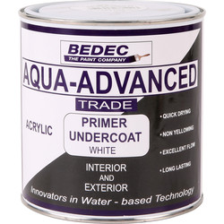 Bedec Aqua Advanced Primer & Undercoat White 1L