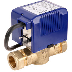 Salus SBMV 2 Port Motorised Valve 22mm