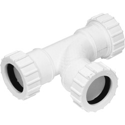 Aquaflow Compression Tee 40mm - 35831 - from Toolstation