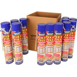 Everbuild Hand Held Expanding Foam 750ml - 35897 - from Toolstation