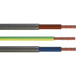 Doncaster Cables Doncaster Cables Meter Tails Cable (6181Y) 25mm2 x 1m Coil - 35905 - from Toolstation