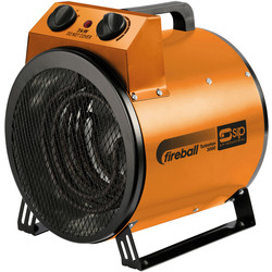 SIP SIP Fireball 230V Turbo Fan Electric Heater 3kW - 35961 - from Toolstation