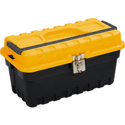 "Olympia Metal Latch Toolbox with Tote Tray 405mm (16"")"