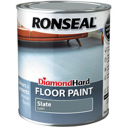 Ronseal Ronseal Diamond Hard Floor Paint Slate 750ml - 36008 - from Toolstation