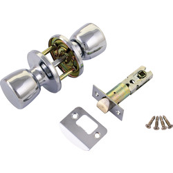 ERA ERA Door Knob Set Passage Chrome - 36060 - from Toolstation