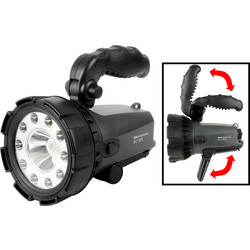 Nightsearcher LED NSS180 Rechargeable Searchlight Torch 1MCP 180lm