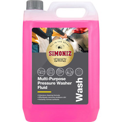 Simoniz Simoniz Multi Purpose Pressure Washer Fluid 5L - 36124 - from Toolstation
