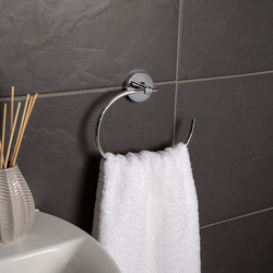 Croydex Pendle Flexi-Fix Towel Ring