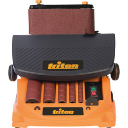 Triton Triton TSPST450 450W Oscillating Spindle & Belt Sander 240V - 36201 - from Toolstation